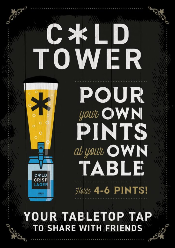 Cold Town Beer Towers at The Black Bull