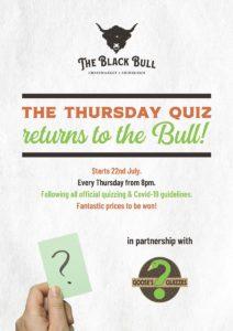 Pub Quizzes at The Black Bull in Edinburgh